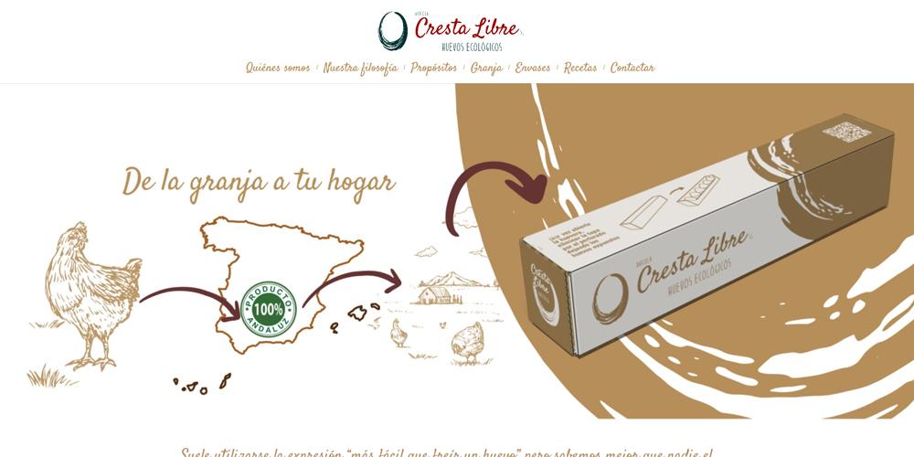 Nueva web Cresta Libre.